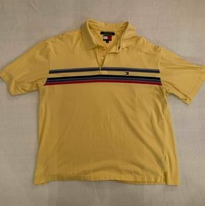 Tommy hilfiger XXL Yellow Mens Polo